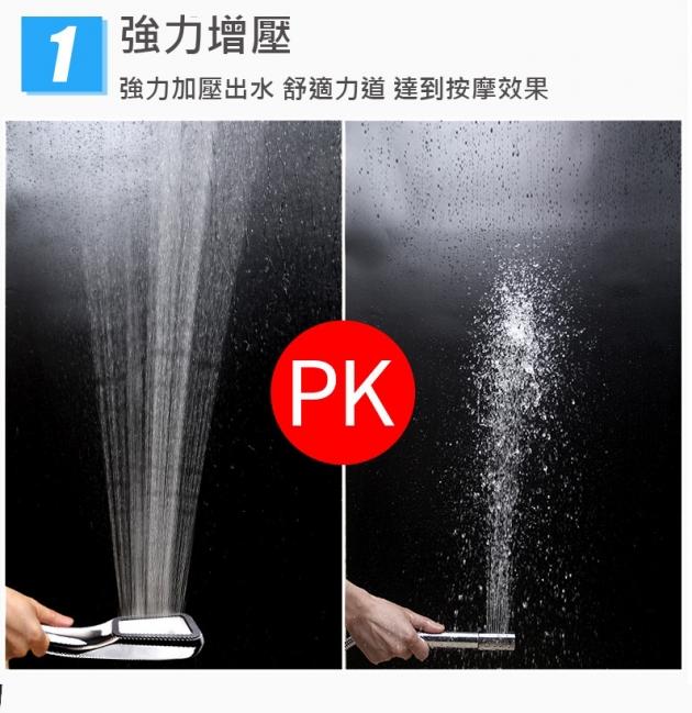 300孔蓮蓬頭 增壓 200% 省水30% 飯店專用 2