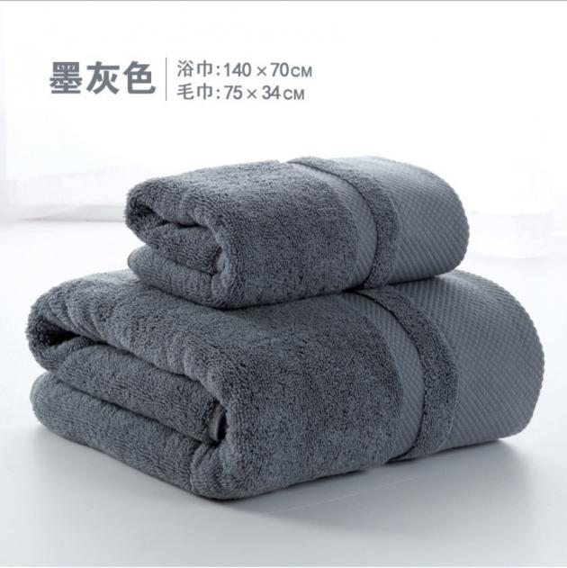 飯店款浴巾 加大 加厚 純棉 浴巾 2