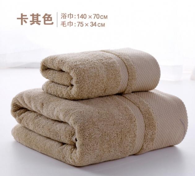 飯店款浴巾 加大 加厚 純棉 浴巾 4