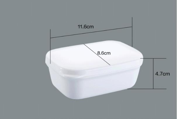 旅游密封香皂盒創意旅行洗臉皂盒(附瀝水盤) 4