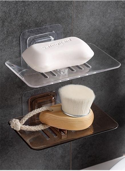 歐式極簡透明水晶皂盒 1