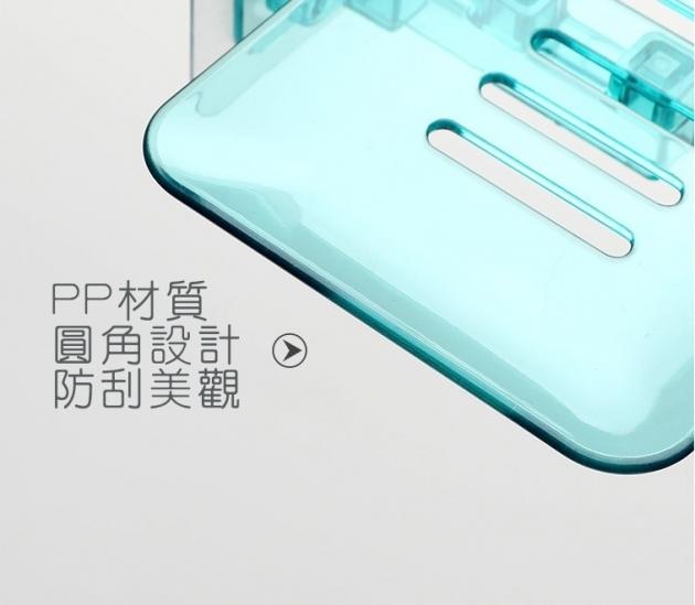 歐式極簡透明水晶皂盒 4