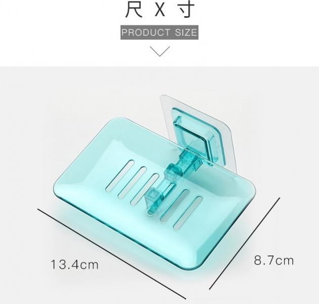 歐式極簡透明水晶皂盒 5