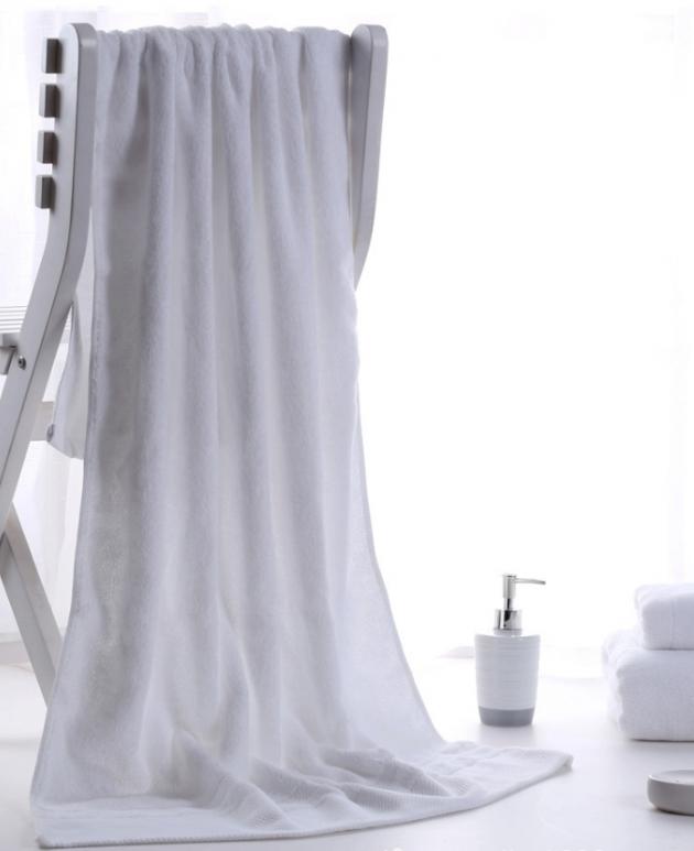 飯店款浴巾 加大 加厚 純棉 浴巾 1