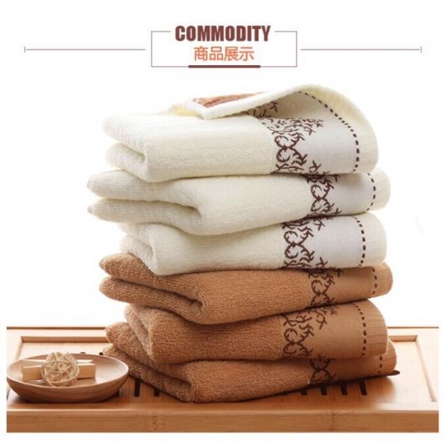 沐浴毛巾 觸感細膩柔軟 質感紮實 吸水力強110g32股 1