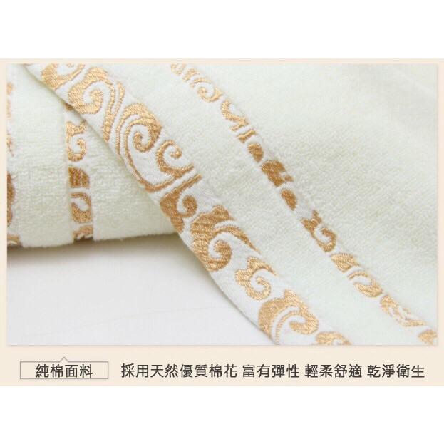 輕柔毛巾100%純棉 細膩觸感 透氣性好 3