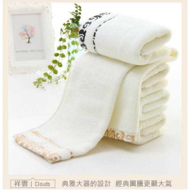 輕柔毛巾100%純棉 細膩觸感 透氣性好 1